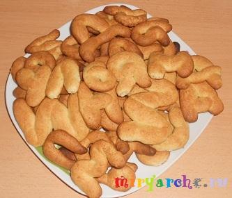 """творожное печенье """"Весёлые буквы""""-2"""