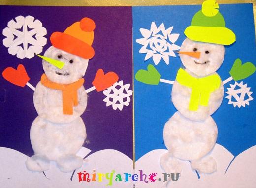новогодние поделки снеговики своими руками видео
