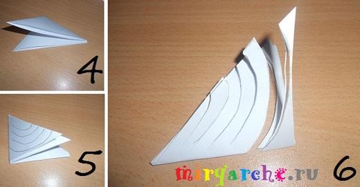 как делать большие объёмные снежинки из бумаги