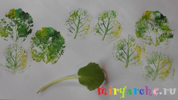 Рисуем отпечатками 4