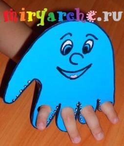 игрушка кукла осьминог
