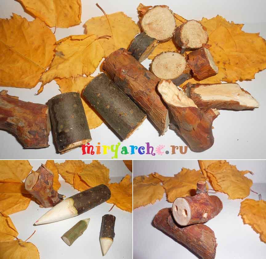 Поделки из сухих веток деревьев