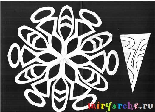 красивые снежинки