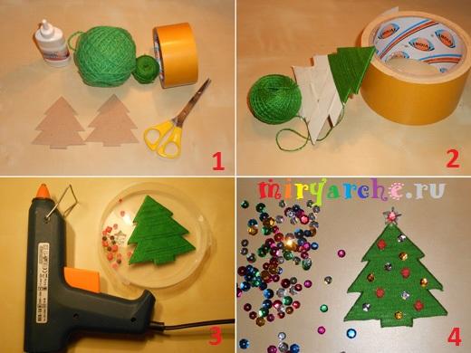 рукодельные подарки на новый год и рождество