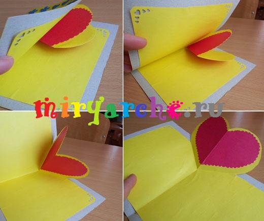 как сделать оригинальные валентинки своими руками из бумаги