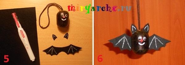 мастер класс летучая мышь своими руками на хэллоуин