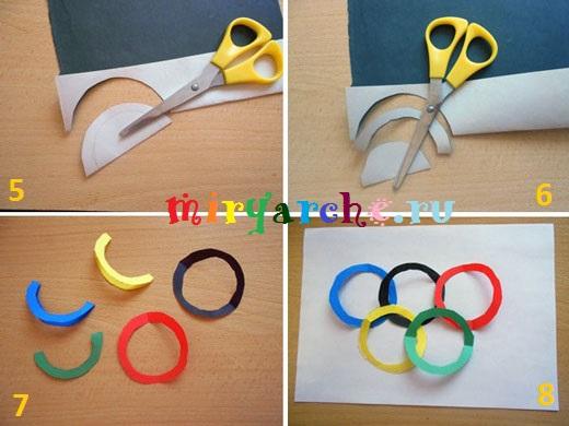 аппликации на тему олимпиада
