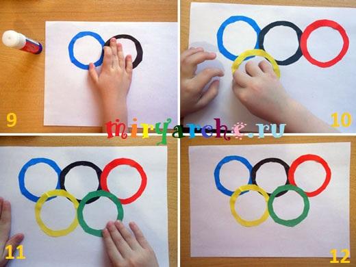 поделки к олимпиаде своими руками