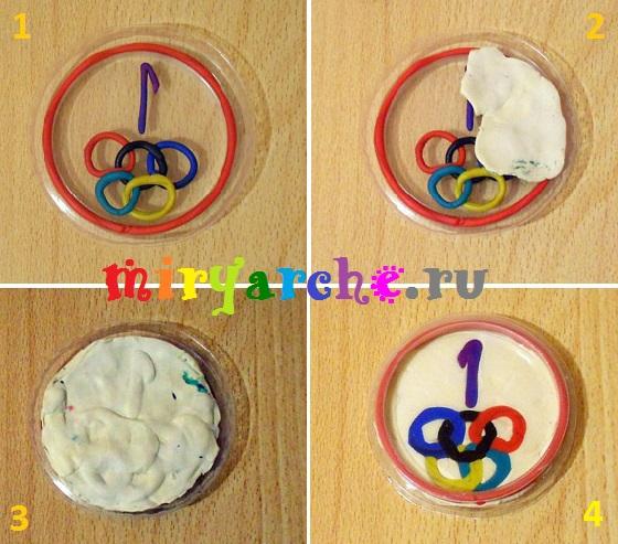 детские олимпийские медали своими руками