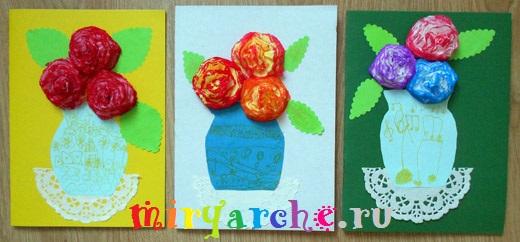 оригинальные детские поделки к 8 марта