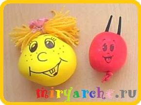 как сделать игрушку Капитошка из воздушного шарика своими руками