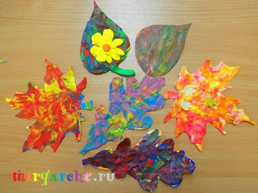 аппликация из пластилина на картоне для детей