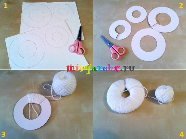 Елочные игрушки из бумаги своими руками поэтапно