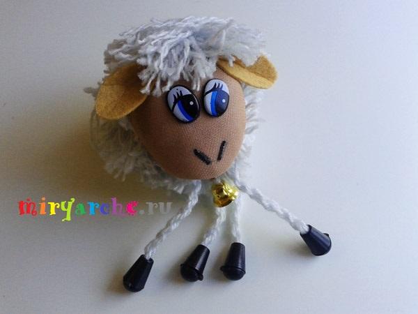 поделка овца своими руками