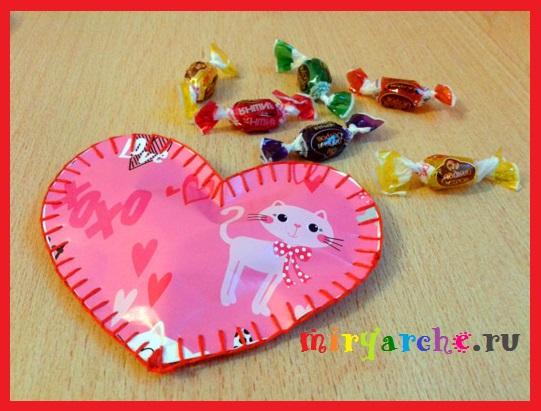 открытки валентинки своими руками на  14 февраля