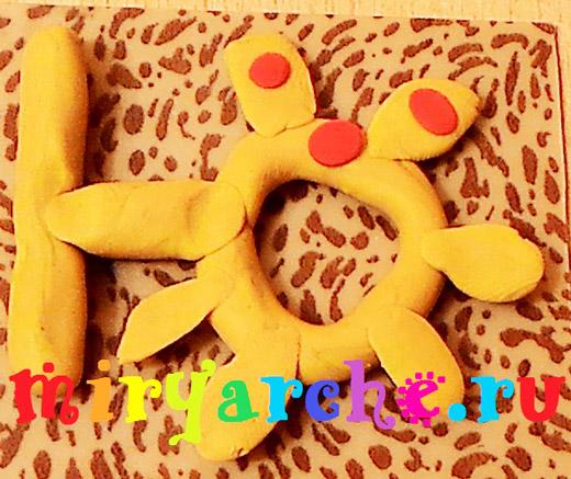буквы из пластилина своими руками